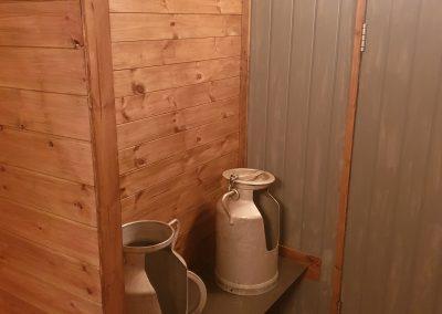 luxury shepherd hut toilet trailer urinal