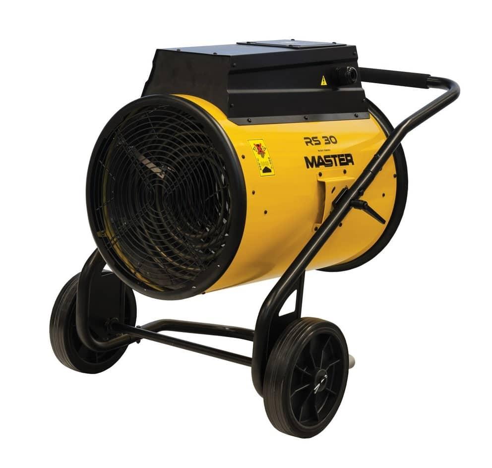 3 phase fan heater hire